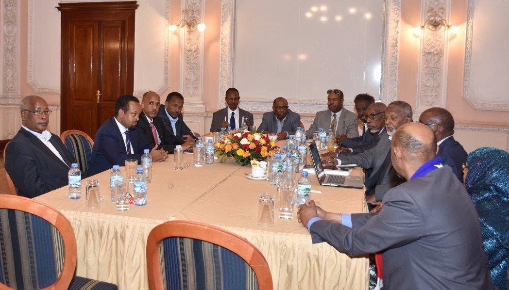 Sawirro: Ethiopia iyo ONLF oo Asmara ku kulmay iyo qodob la isku afgartay