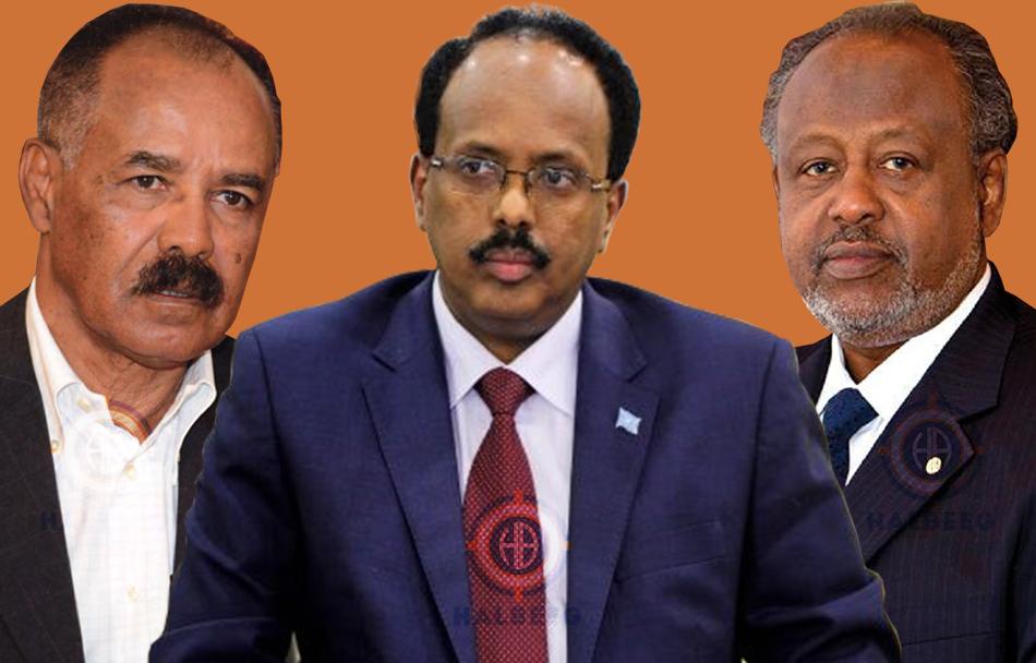 Halkee DF marineysaa isu soo dhaweynta dalalka Eritrea iyo Jabuuti? (Aqri)
