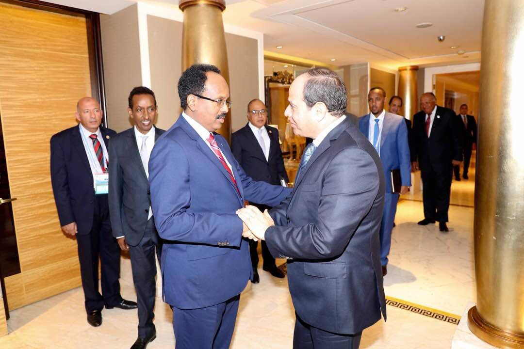 Egypt and Somalia had warm relations in the past, but now it is lukewarm at best