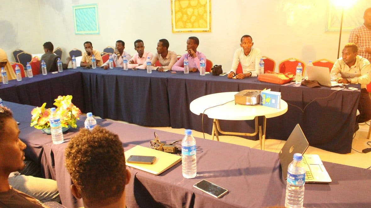 Somali Journalists receive Labor Rights Training in Galkacyo