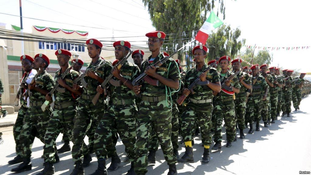 Somaliland oo ciidamo badan geysay Ceerigaabo