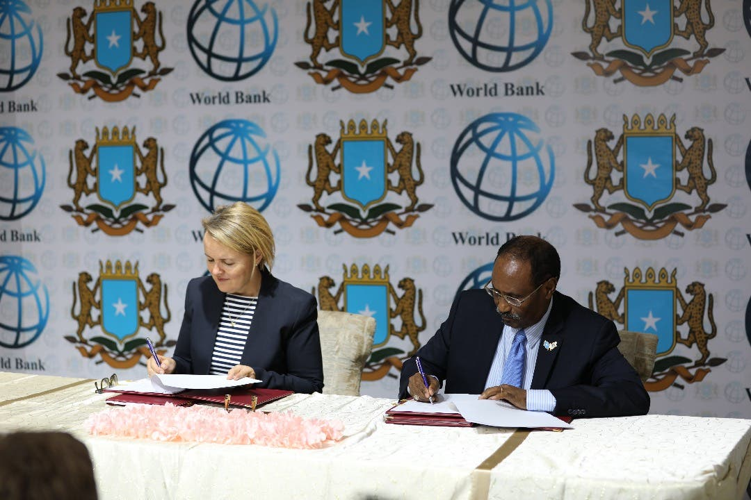 World Bank signs $80 million in grants to Somalia