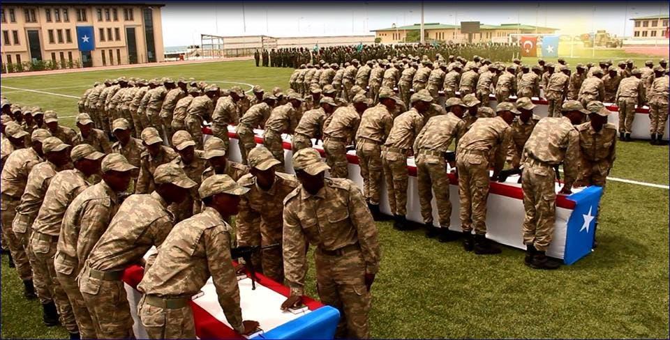 DAAWO Video: Cutubkii u horreeyey ciidamada uu tababaray Turkiga oo lagu wareejiyeyDF Somalia