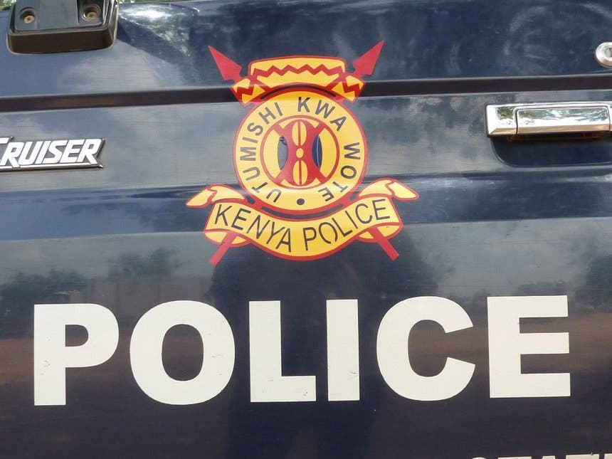Three held as Kenyan cops seize pistol, heroin