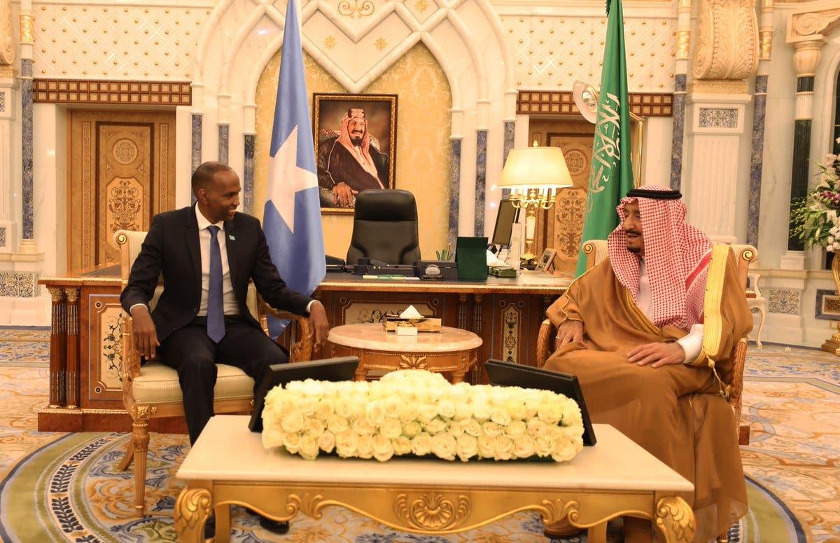 Somali PM meets Saudi King Salman