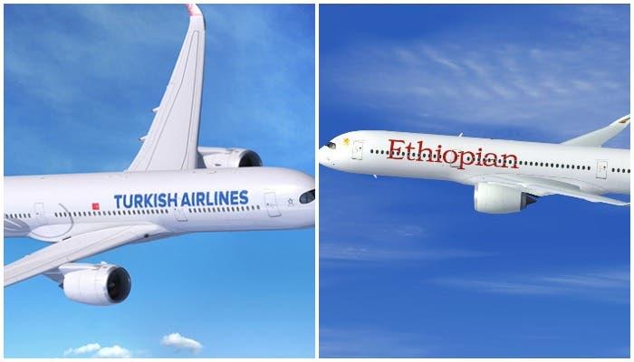 Turkish Airlines, Ethiopian & diyaarado kale oo joojiyey duulimaadyadii Muqdisho
