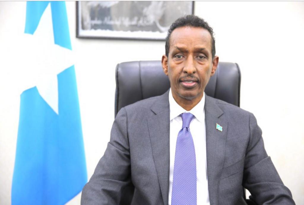 Wasiirka arrimaha dibedda Somalia oo xog dheeri ah ka bixiyay cayrintii Haysom