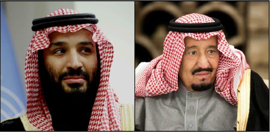 Sawirro: Boqor Salman iyo Maxamed Bin Salman oo la kulmay qoyska Khashoggi