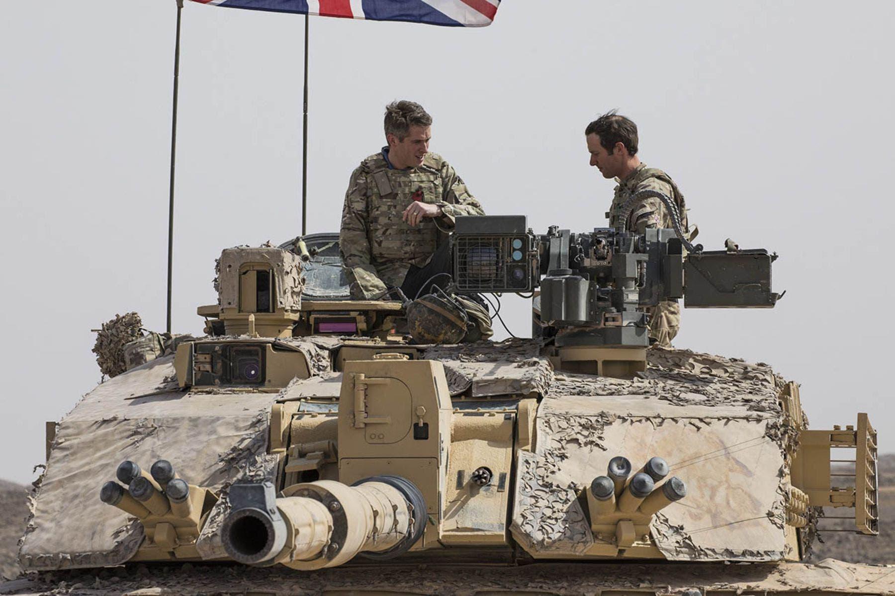 Britain oo saldhig milatari ka sameysaneysa gacanka