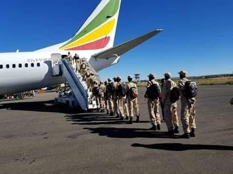 Sawirro: Ciidamadii ONLF ka joogay Eritrea oo maanta dib ugu laabtay Itoobiya