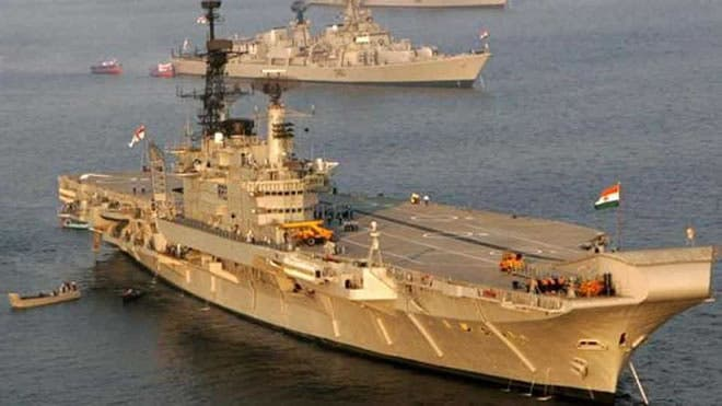 Indian Navy ship seizes arms, ammunition off Somali coast