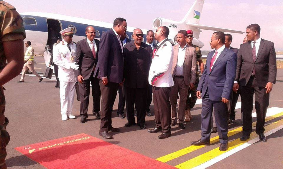 Qorshaha Geelle iyo Cumar Al-Bashiir u tageen Addis Ababa oo la shaaciyay