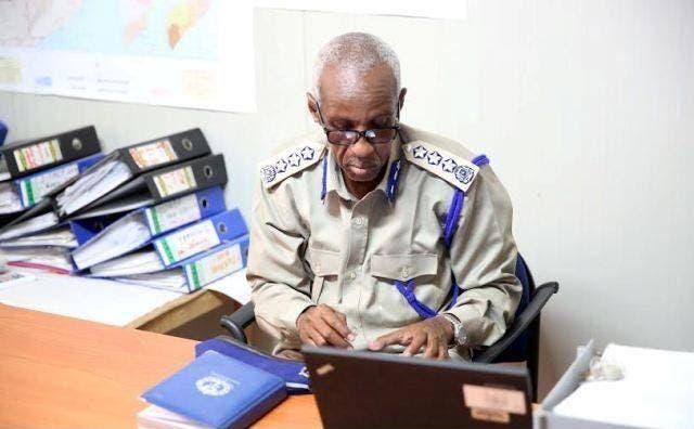 Sawirro: Qarax culus oo ka dhacay guriga taliye ku-xigeenkii hore ee booliska Somalia