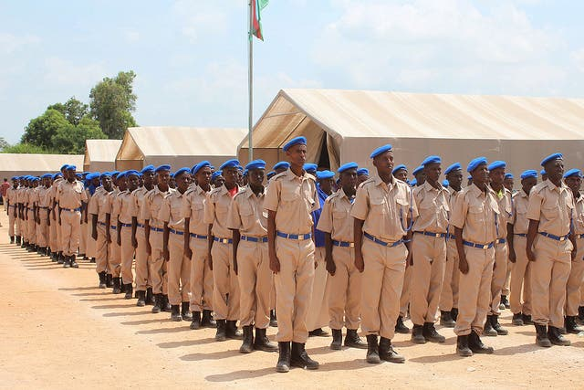Ciidanka booliska Somalia oo u dabaal dagaya 75 sano kadib aasaaskooda