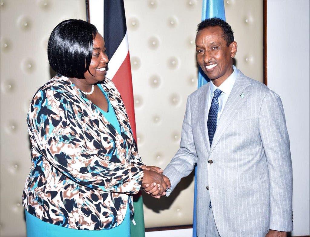 'Dowladda Soomaaliya oo bahdishay dowlada Kenya'