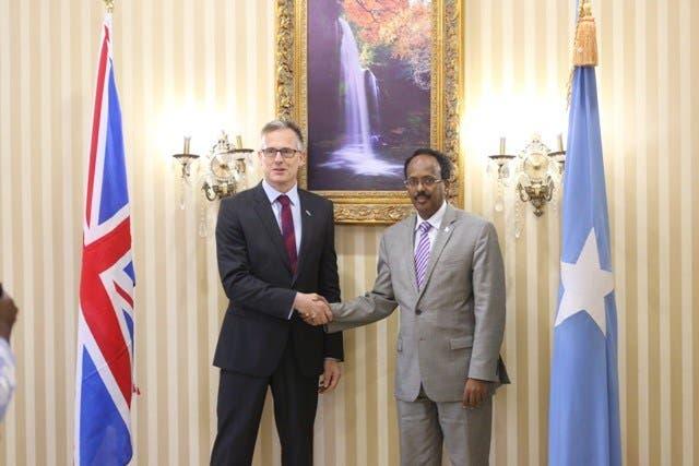 Xog: Britain oo faro-gelisay go'aanka ay DF Somalia ku cayrisay danjire Haysom