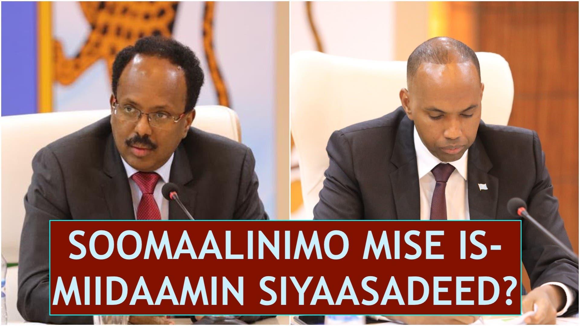 Daawo: Nabad iyo Nolol oo qaadatay go'aano abuuray hal su'aal: Soomaalinimo mise is-miidaamin?
