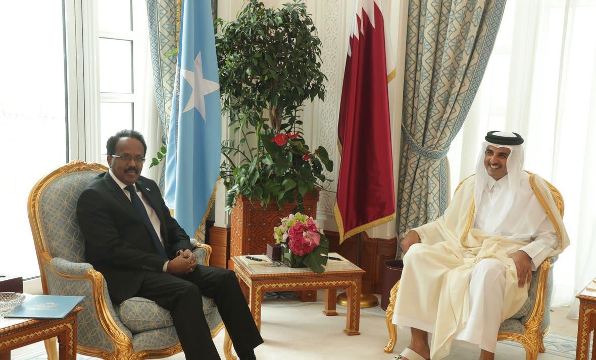 Xiisad diblomaasiyadeed oo ka dhex oogan dowlada Qatar iyo Villa Somalia