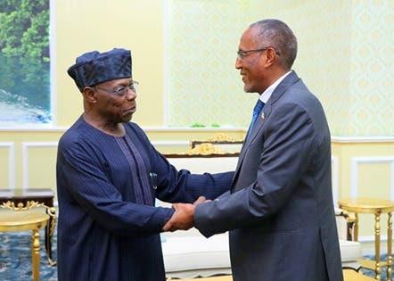 Madaxweynihii hore ee dalka Nigeria, Obasanjo oo maanta tagay Hargeysa