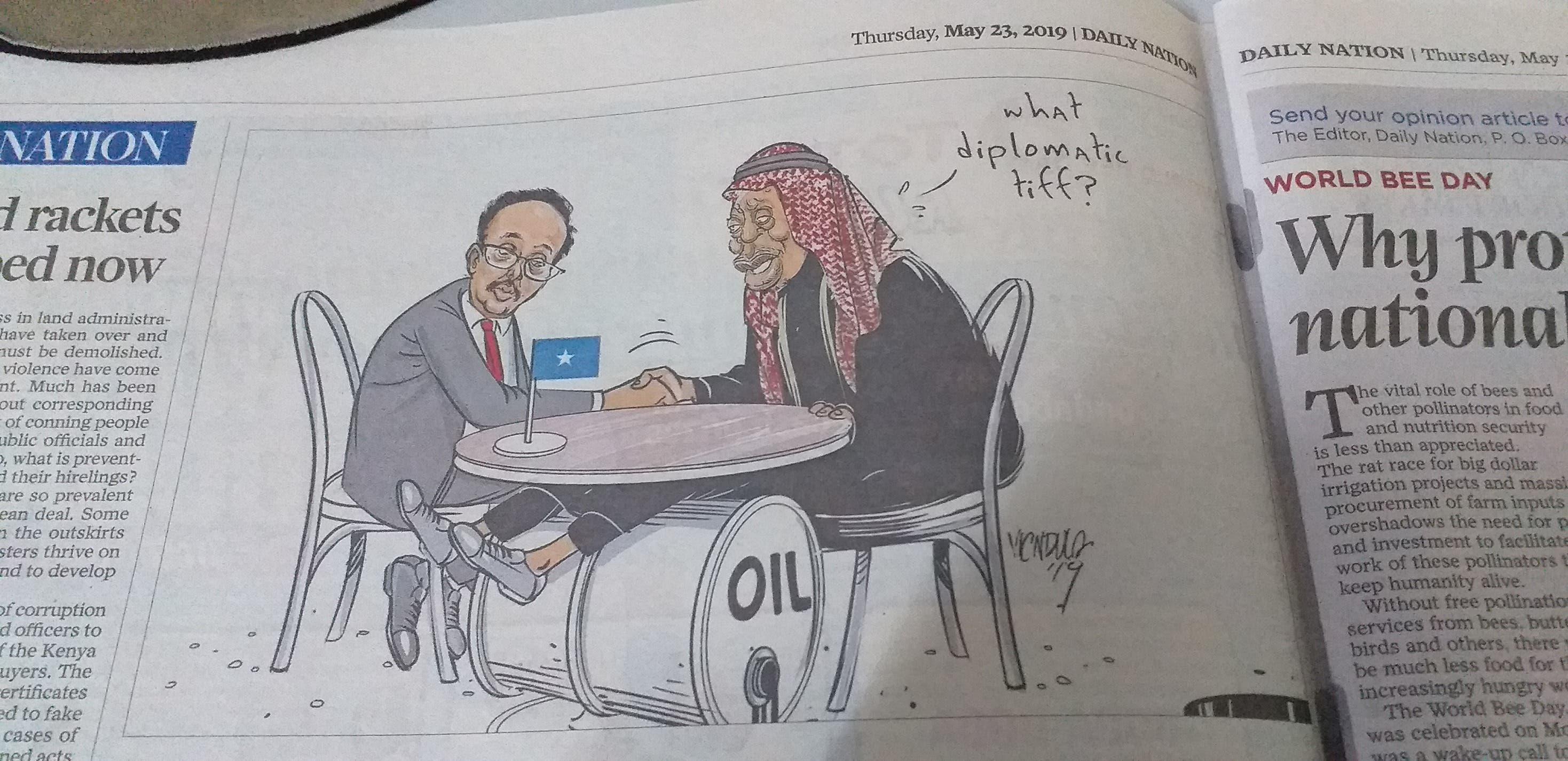 Muxuu yahay saska dowladda Kenya ka qabto Soomaaliya?