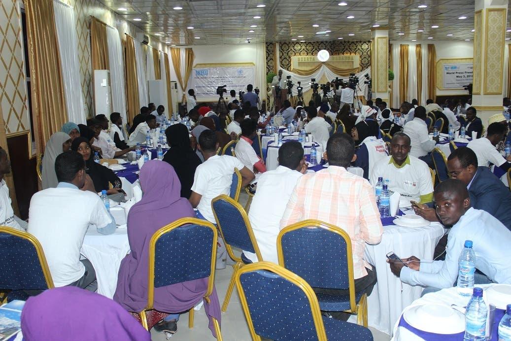 NUSOJ PRESS STATEMENT – Somalia journalists mark 2019 World Press Freedom Day