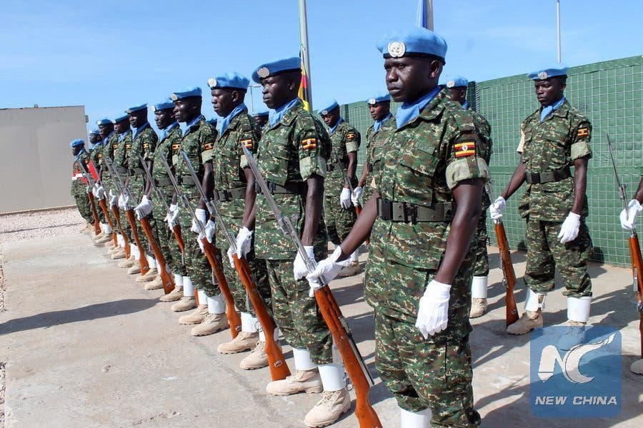Ciidamada Uganda ee jooga Somalia oo ka cabanaya mushaar la'aan