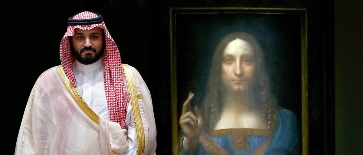 Maxamed Bin Salman oo €500 milyan ku iibsaday sawir astaan u ah kirishtanka