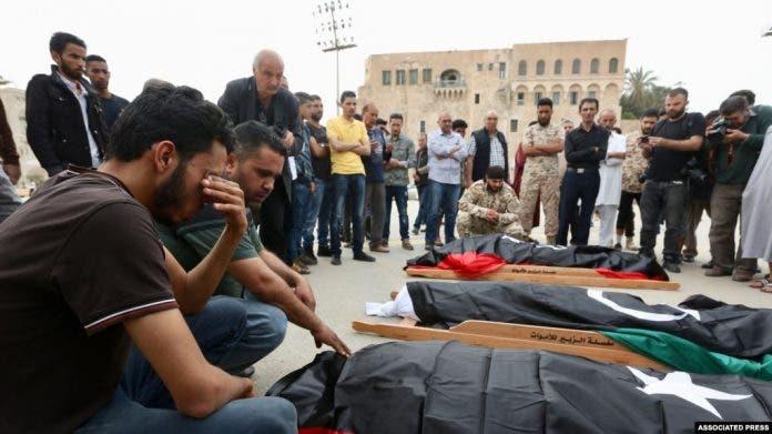 Soomaali badan oo lagu dilay weerar ka dhacay Libya