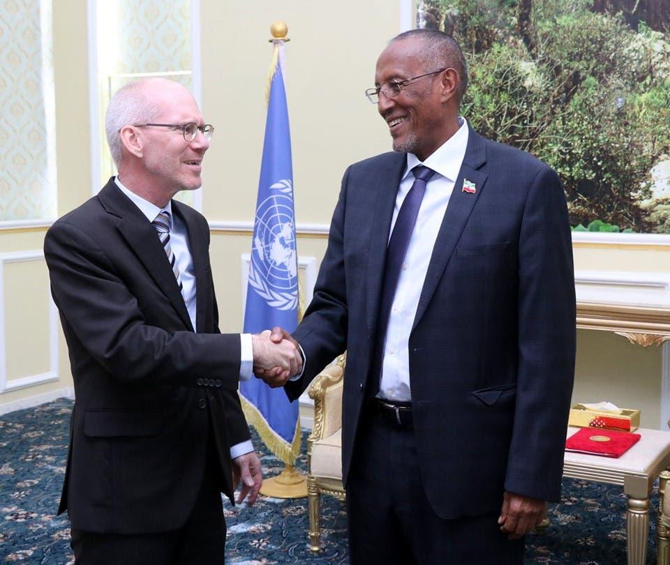 QM 'oo qorsheyneysa inay Somalia ka qabto doorasho ay qeyb ka tahay Somaliland'