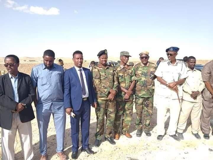 Sarkaal reer Somaliland ah iyo ciidankiisa oo ku biiray maamulka Puntland