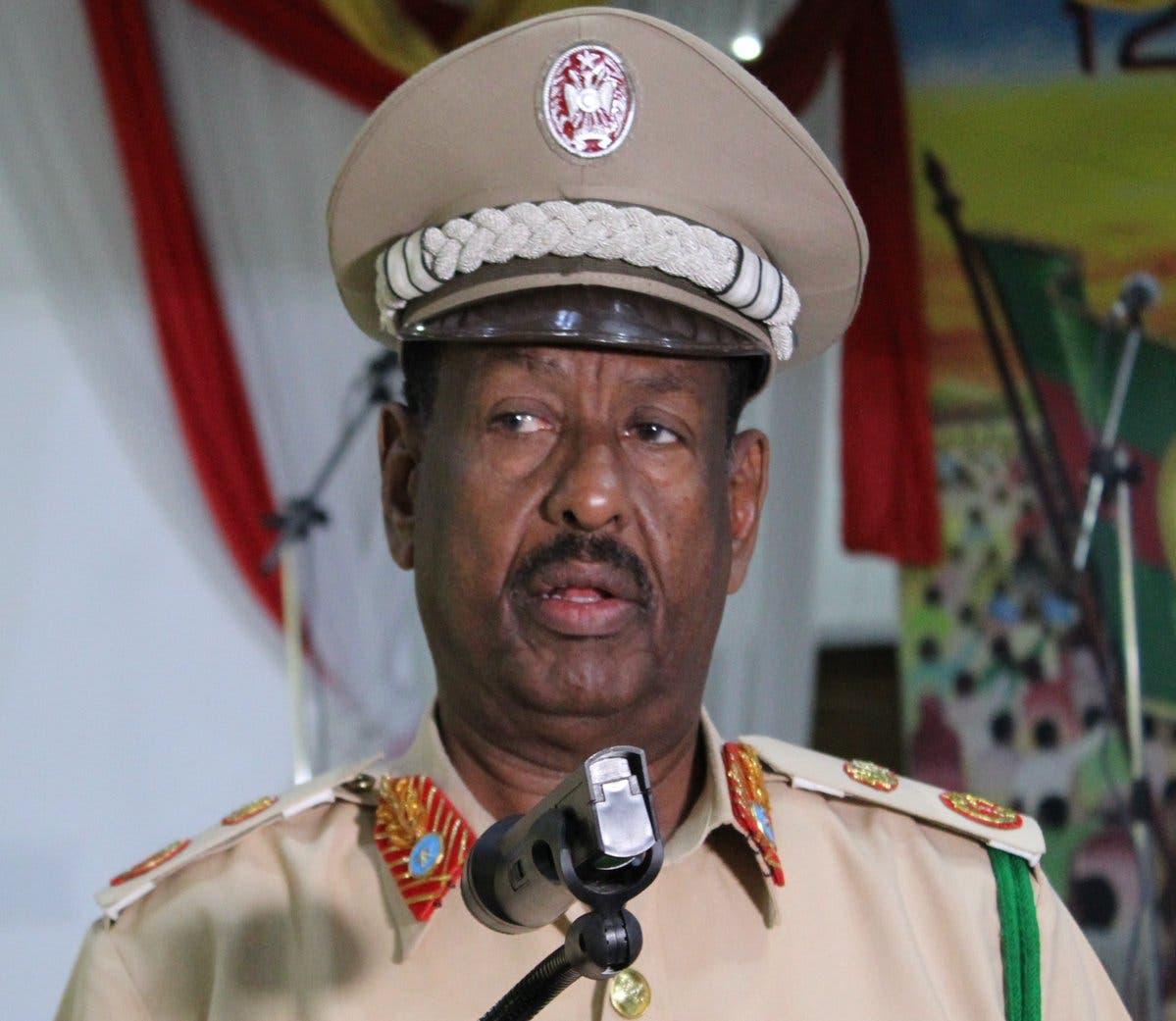 Taliyaha booliska Somalia oo war kasoo saaray DILKII Almaas Elman Cali Axmed