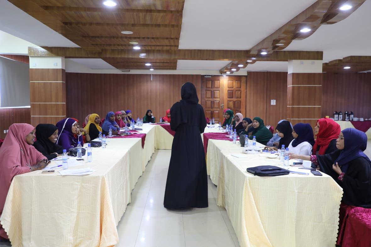 FESOJ and VIKES kick off three day training for 30 female journalists in Mogadishu