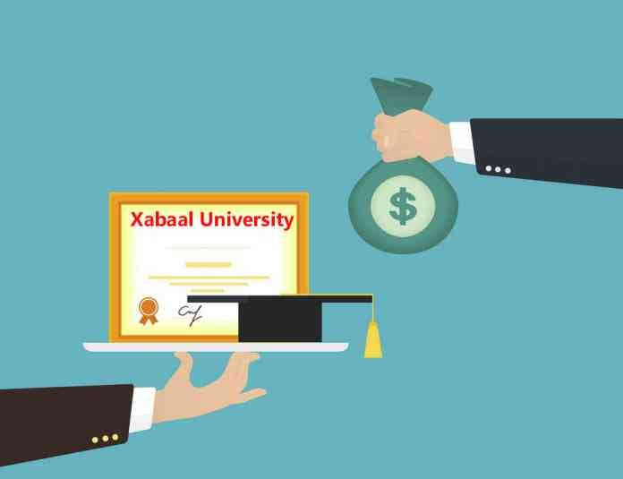 Muqdisho waxaa ka furan xabaal University: Jamacad DADKA oo nool lagu aaso