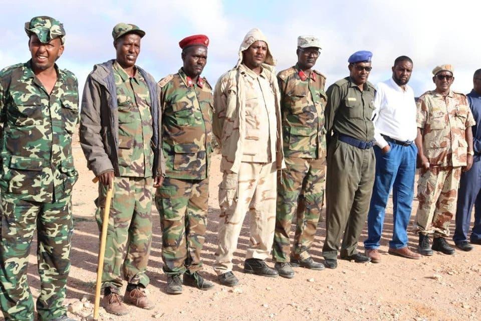 Sawirro: Puntland oo soo bandhigtay gaadiid iyo ciidan ka goostay SOMALILAND