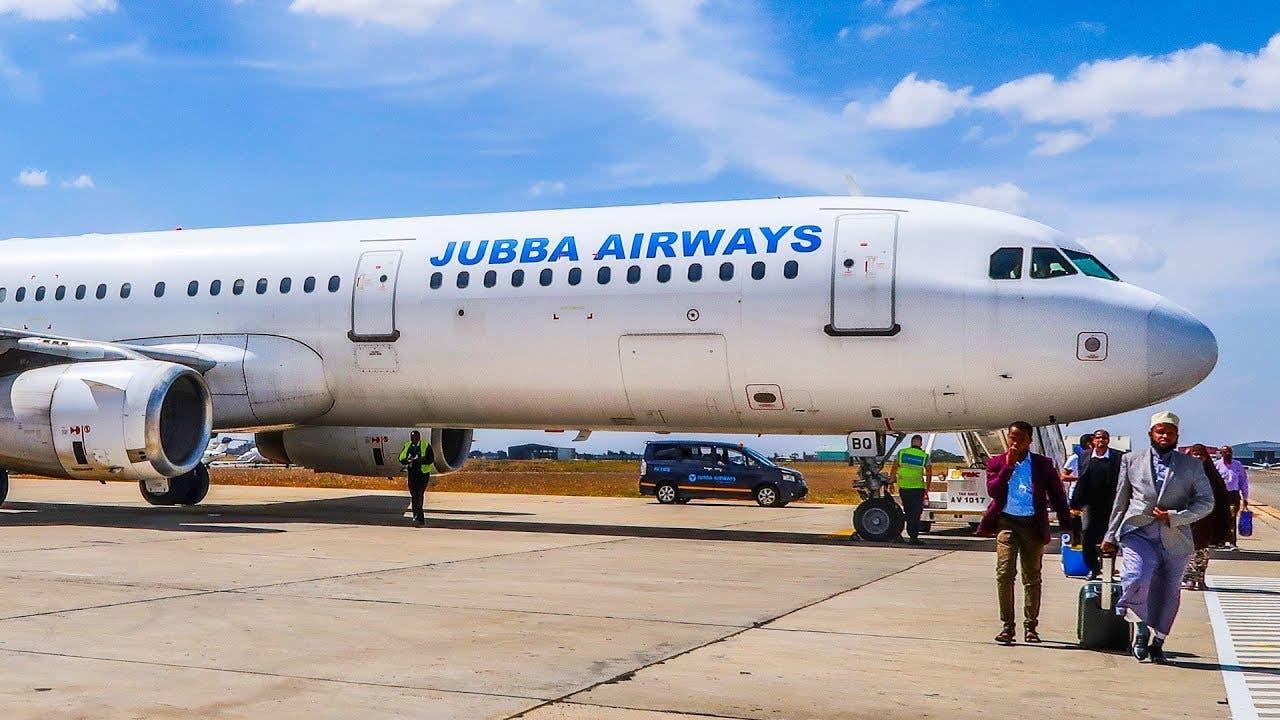 DF oo SHATIGA duulimaadyada dalka kala laabatay shirkadda Jubba Airways