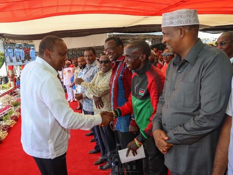 Weerar kooxda Al-Shabaab ay la beegsan rabeen Uhuru Kenyatta oo la fashiliyey