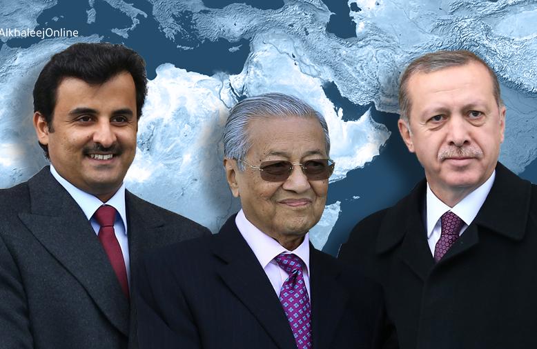 Turkey, Qatar iyo Malaysia oo dhisaya isbahaysi Islami ah oo Sacuudigu ku jirin