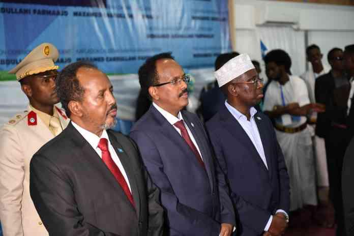 Villa Somalia oo shaaca ka qaaday ajandaha shirka Farmaajo iyo madaxdii hore