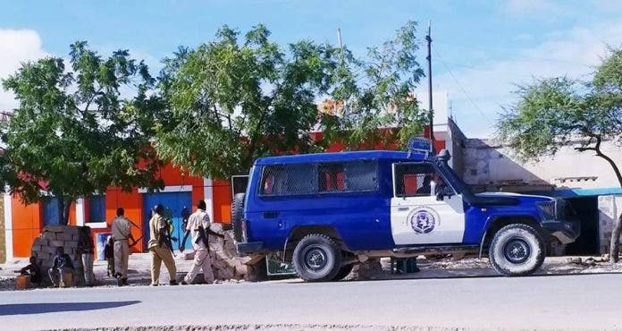 Askari ka tirsan ciidamada SOMALILAND oo la toogtay