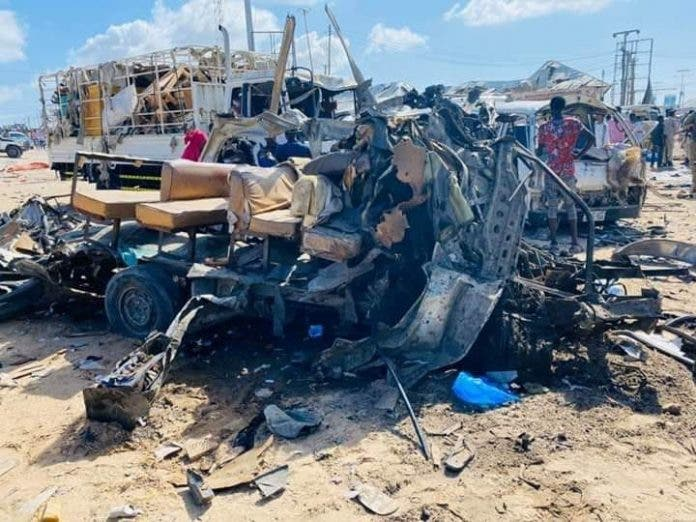 US air strikes target al-Shabaab after Mogadishu bombing