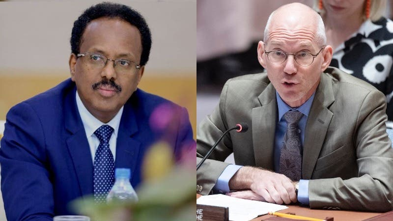 Image result for James Swan and farmaajo