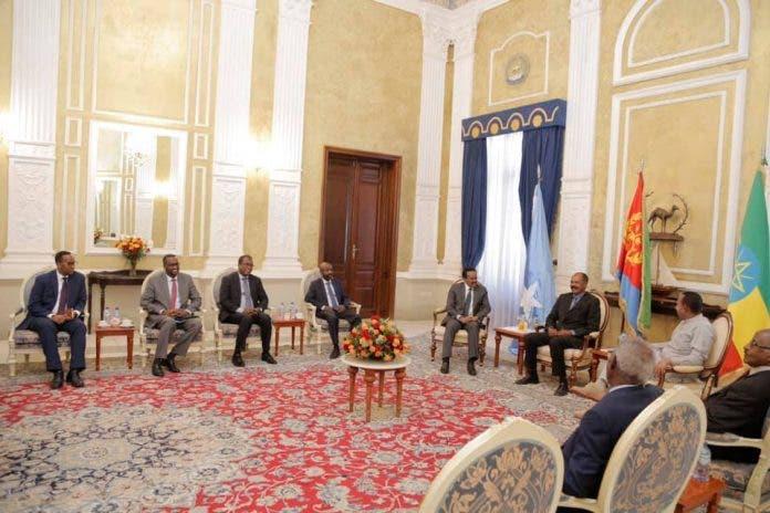 Muxuu salka ku hayaa kulanka Farmaajo, Afwerki iyo Abiy Ahmed ee Asmara?