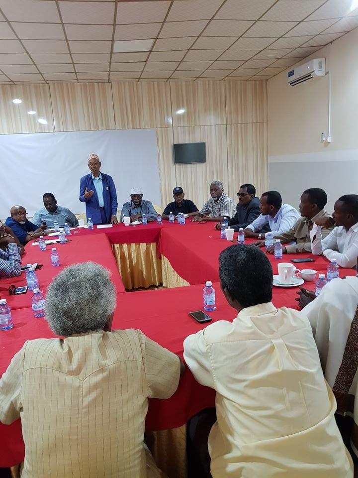 Guddiga wada-xaajoodka DF iyo Somaliland oo la kulmay golaha abwaannada