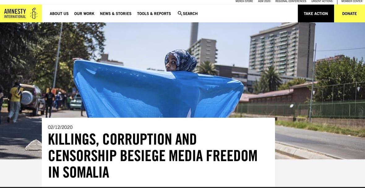 FESOJ welcomes the Amnesty International report and urge FGS to ensure freedom of media
