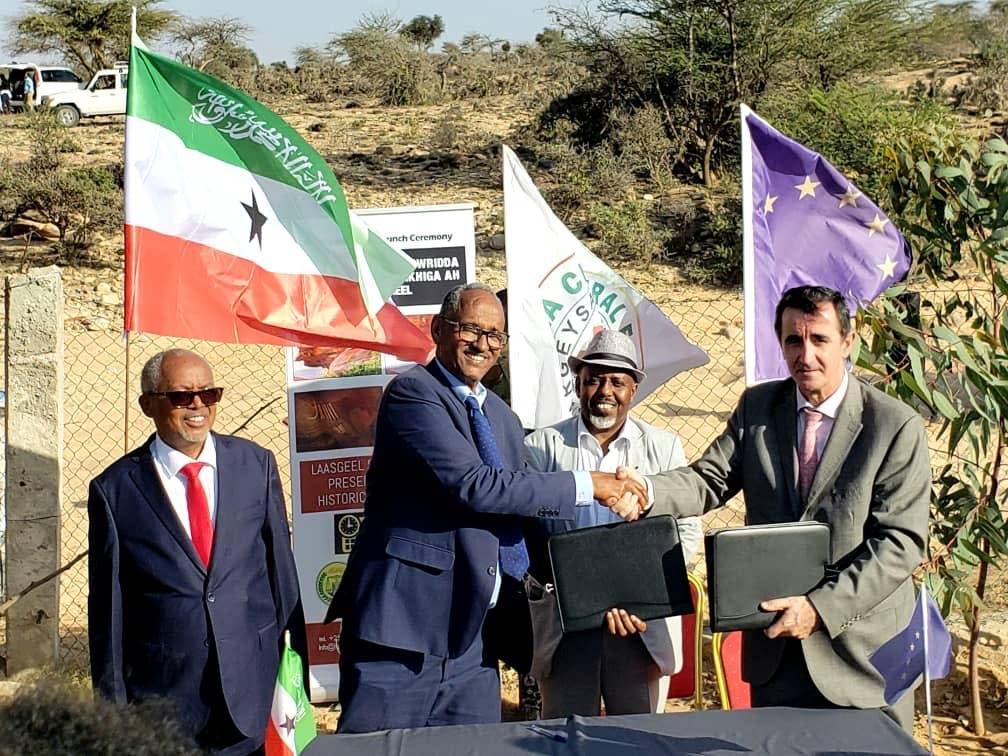 Somaliland iyo Midowga Yurub oo maanta oo kala saxiixday mashruuc cusub