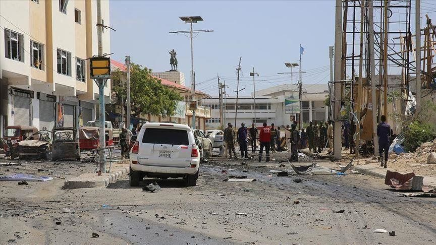2 Ethiopian soldiers killed in Somalia blast