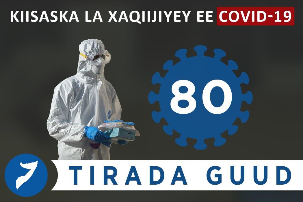 Sida ragga iyo dumarka ay ugu kala badan yihiin kiisaska Coronavirus ee Soomaaliya oo shaaca laga qaaday