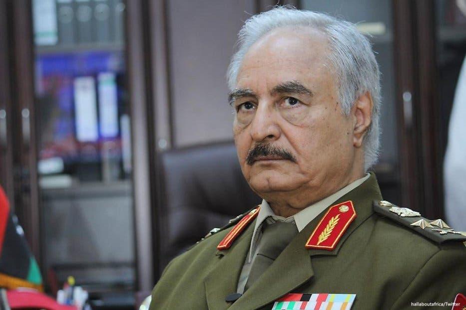 Ciidamada Khaliifa Xaftar oo isaga baxay Tripoli xilli ay guul-darrooyin ku socdaan