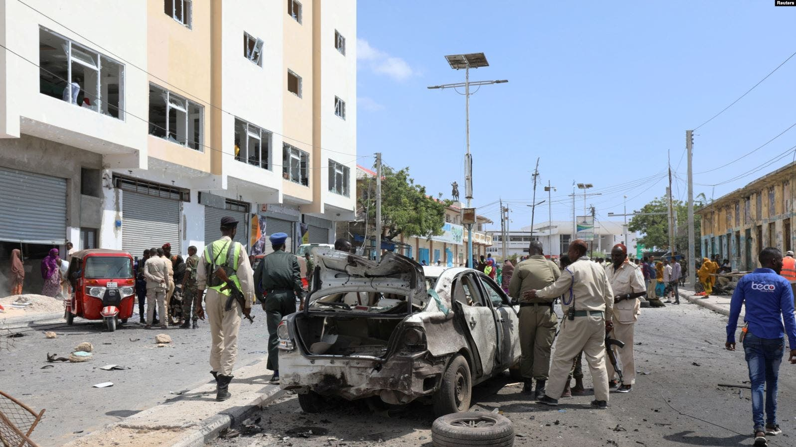 Senior Police Officer Killed In Car Bomb In Mogadishu