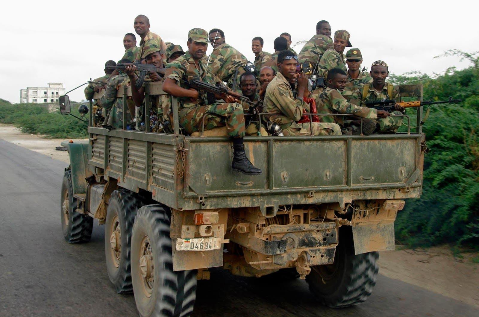 Ethiopian troops hit by explosion in Somalia
